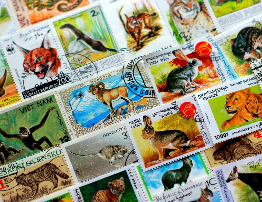 philately - wildlife