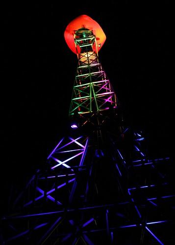 usa paris tower tourism hat cowboy texas landmark eifel