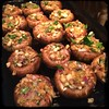 #homemade Stuffed #Mushrooms #CucinaDelloZio - stuff shrooms and put on buttered pan