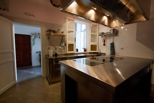 kitchen of the Apparment