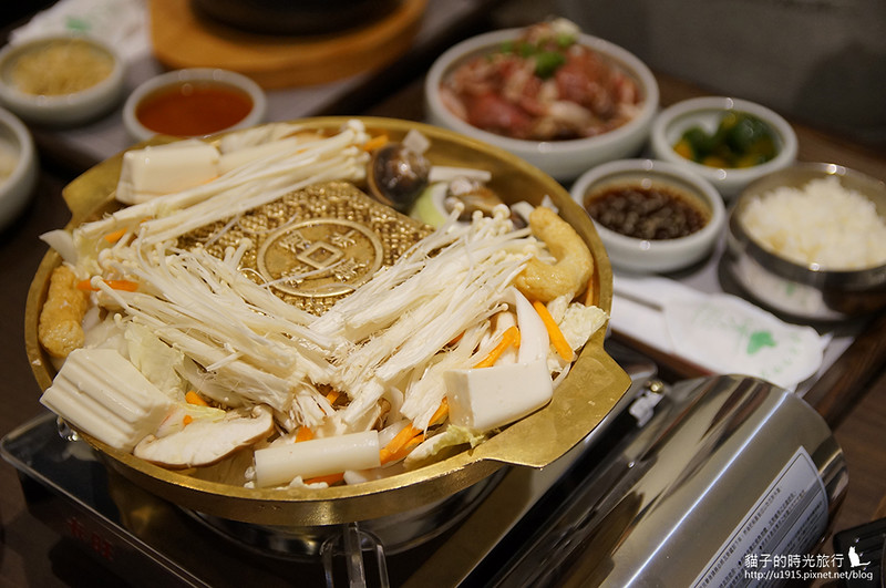 雲林虎尾_全州韓二石豆腐石鍋專門店