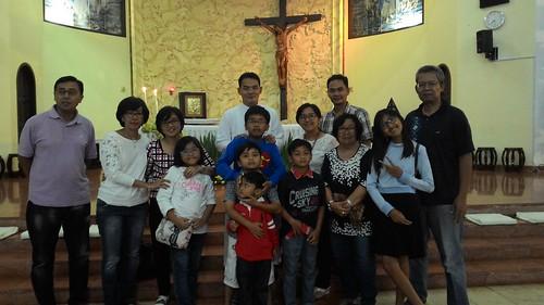 Berkunjung dan Misa penutupan Tahun di Gereja Katolik Gembala Yang Baik, Batu Malang, dengan Romo Michael Agung