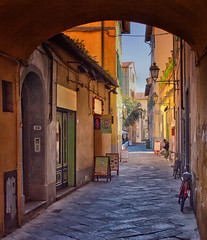 A Tuscan Alleyway