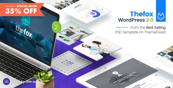 TheFox v2.071 - Responsive Multi-Purpose WordPress Theme