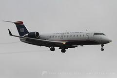 N455AW CRJ200 US Airways Express