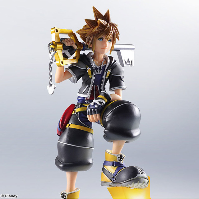 SQEX  Static Art Gallery《KINGDOM HEARTS II》索拉 ソラ 雕像