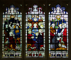 stoning of Stephen, Pentecost, commissioning of Matthias (Clayton & Bell)