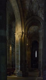Interior de la Iglesia de Santiago del Burgo