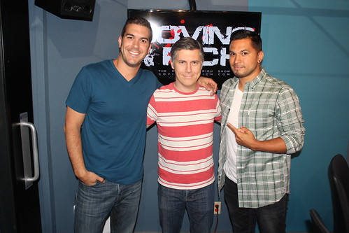 Chris Parnell on the Covino & Rich Show