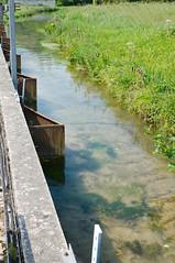 Captation de l'eau de la Calonne