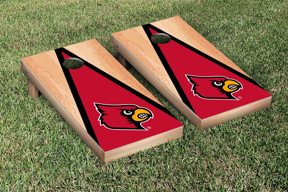 Louisville Cardinals Triangle Hardcourt