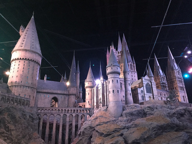 Harry Potter Studio Hogwarts model