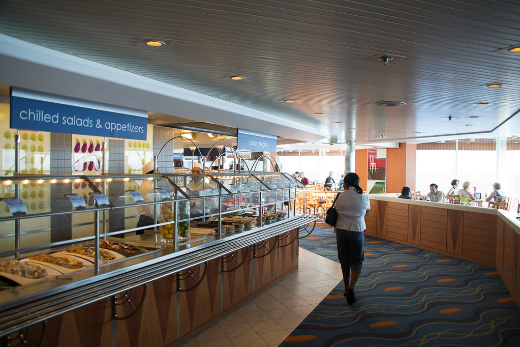 Buffet on Celebrity Constellation