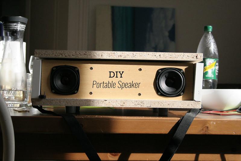 DIY Tragbarer Lautsprecher