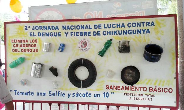 En marcha la 2ª. jornada nacional de prevención y control de dengue y fiebre chikungunya
