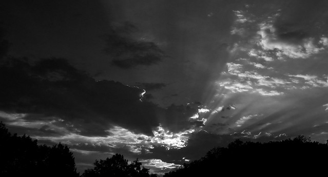 Westerville Ohio sunset