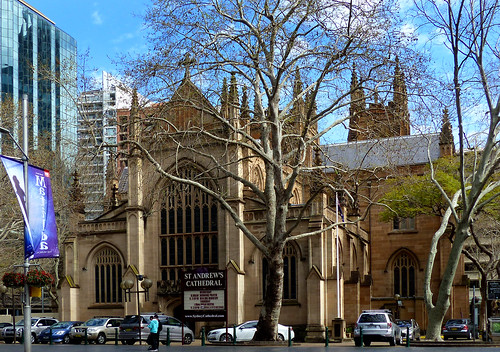 St Andrew's Cathedral. Sydney.