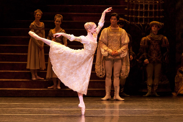 Sarah Lamb as Juliet in Romeo and Juliet © ROH/Johan Persson, 2010