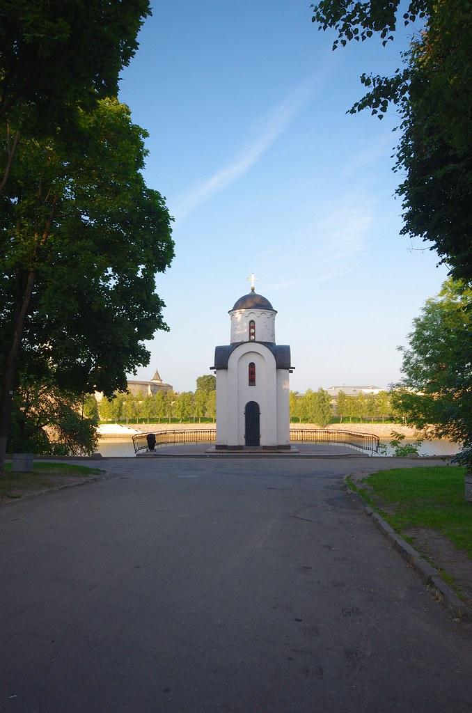 Псков, Россия, Часовня Святой Равноапостольной княгини Ольги