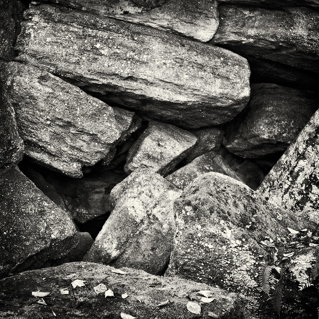 IMG_6799 Pile of Rocks BW