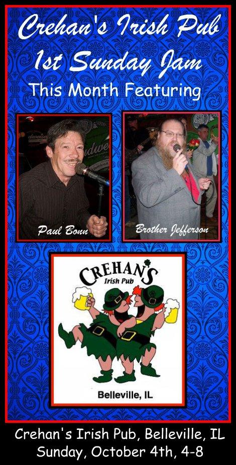 Crehan's Jam 10-4-15