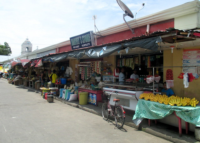 The newly-rehabilitated Palompon public market - June 2015