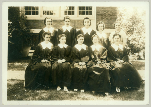 Nine graduates