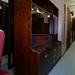 Retro long mahogony side  board