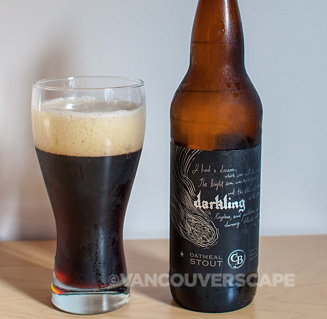 Cannery Brewing Darkling Oatmeal Stout