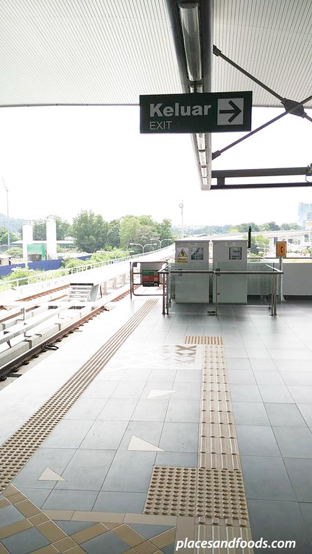 NEW LRT BK5 new station