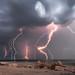 Salton Sea Storm by george7806