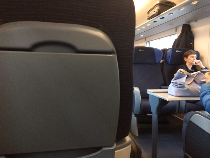View from my seat on Milan-to-Venice train.
