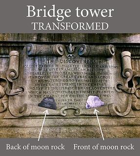 Bridge tower: transformed