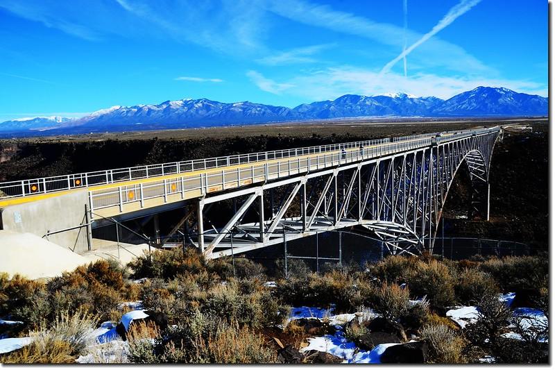 Rio Grande Gorge Bridge from the rest area 3