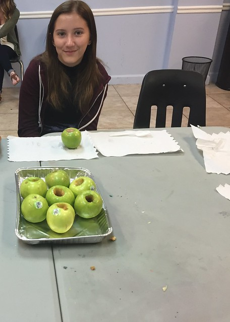 IYF teens cook up a nutritiously sweet snack! thumbnail