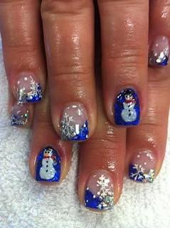 nails-snowmen