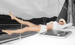 Photo session on the yacht                     XOKA7675bs