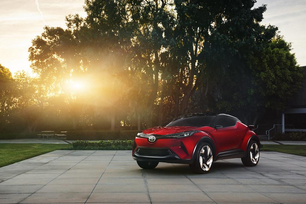 World debut of Scion C-HR Concept at LA Auto Show