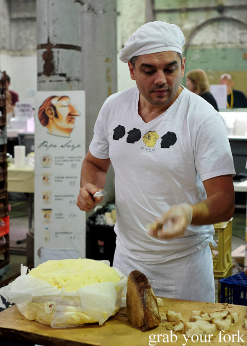 Pierre Issa of Pepe Saya butter at Rootstock Sydney 2015