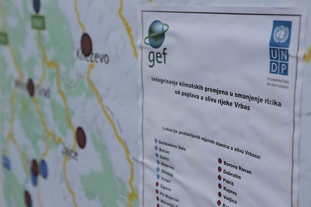 Uspostavljanje hidrometeorološke mreže u slivu rijeke Vrbas