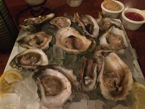 Apalachicola oysters at Milliken's Reef, Port Canaveral