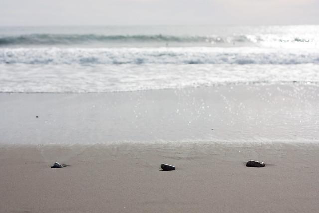 The Sea Delivered Three Stones