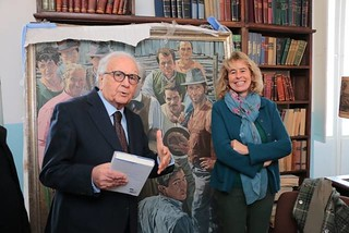 Conversano- Stefania Craxi visita la Fondazione di Vagno presieduta da Gianvito Mastroleo  (4)