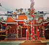 The Chinese Temple between the beach and the Ring road. #samui #maenam #kohsamui #arkbar