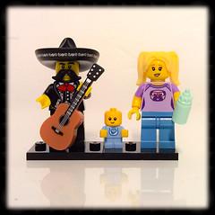 lego guitar & baby