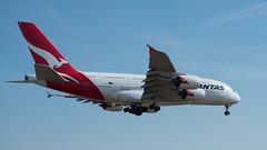 QANTAS Airbus A380 VH-OQC