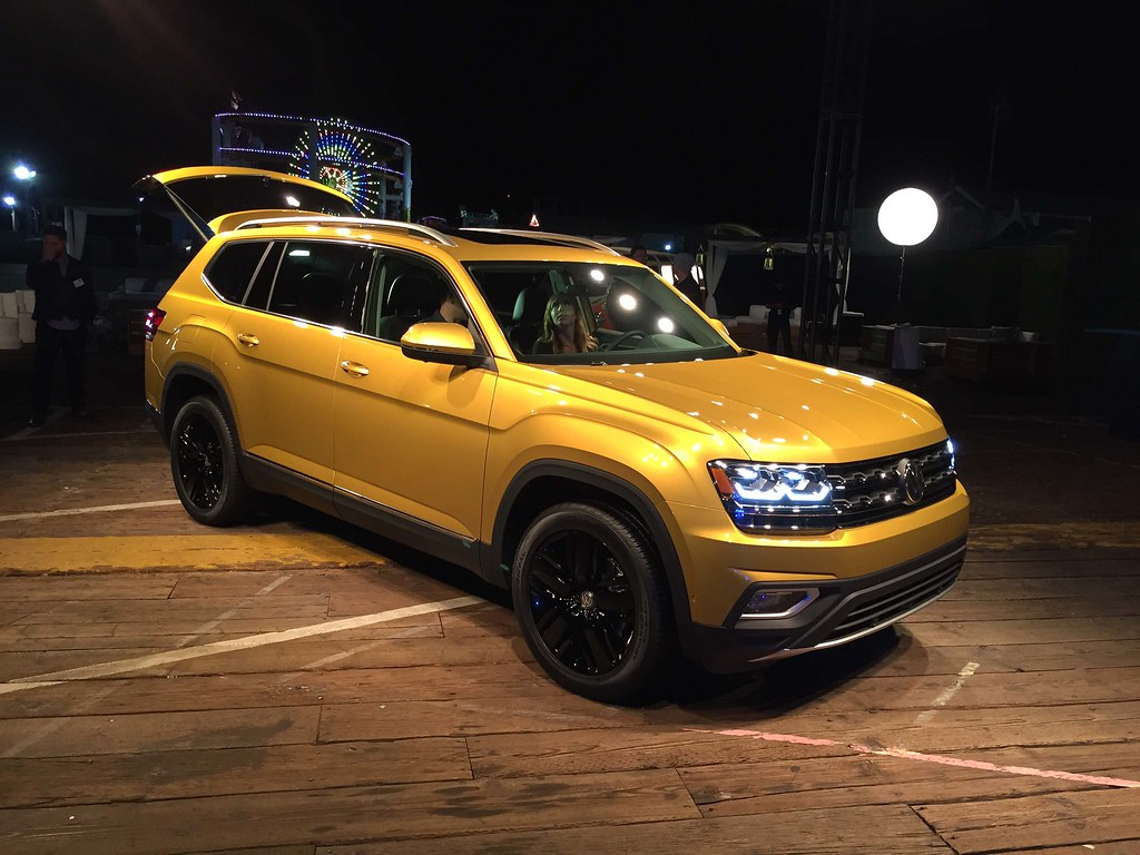 2018 Volkswagen Atlas Reveal Event