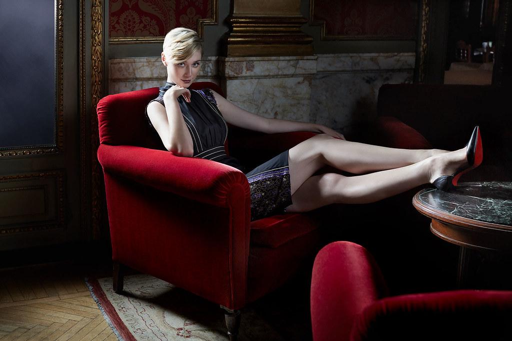 Элизабет Дебики — Фотосессия для «Агенты А.Н.К.Л.» 2015 – 8
