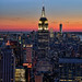 Empire State, from Top of the Rock, NYC, USA by sunolan