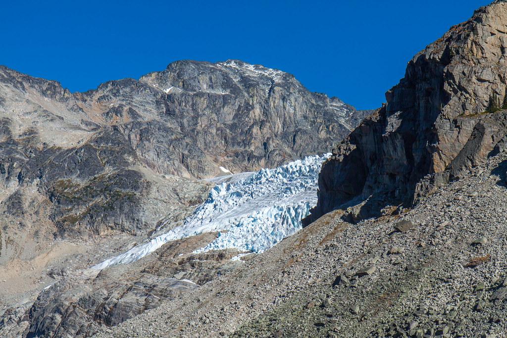 Upper Joffre Lake, Matier Glacier